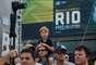 19 de maio: Apesar da queda de temperatura, público carioca compareceu à Praia do Pepê e acompanhou a conquista de Jordy Smith na etapa brasileira do Mundial de Surfe, com vitória sobre o brasileiro Adriano de Souza, o Mineirinho