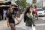 Prince Jackson, filho de Michael Jackson, levou a namorada, Remi Alfalah, para jantar em um restaurante italiano, em Beverly Hills, nos Estados Unidos, na última sexta-feira (17). Os dois foram clicados no local, mas não trocaram carinhos em público