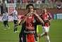 Com gol de Arthur Maia, Joinville venceu o Bragantino por 3 a 0 em Santa Catarina