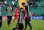 Figueirense sofreu, mas venceu de virada o América-RN, por 3 a 2, em sua estreia na Série B