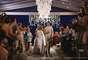 O jogador de futebol Paulo Henrique Ganso e a noiva, Giovanna Costi, oficializaram a união na noite deste sábado (25) em um hotel de Caraguatatuba (25). Entre os convidados havia diversos nomes famosos, mas quem chamou a atenção mesmo foi Neymar, um dos padrinhos do enlace