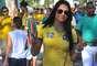 Movimentação de torcedores é intensa ao redor do Maracanã para o amistoso entre Brasil e Inglaterra; veja fotos