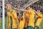 Com gol de Bresciano, a Austrália venceu a Jordânia por 4 a 0, nesta terça-feira (11), e ficou perto de garantir vaga na Copa do Mundo de 2014