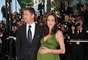 Angelina Jolie foi uma das atrações do festival de Cannes em 2008, já que exibia barrigão de gêmeos