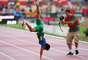 Grande favorito para a prova, Yohansson Nascimento provou que a expectativa tinha fundamento e venceu os 200 m T45 do Mundial Paralímpico de Atletismo