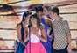 No palco do Teen Choice Awards, na noite do último domingo (11), Lea Michele e colegas de elenco no seriado 'Glee' homenagearam Cory Monteith, ator que dava vida ao personagem Finn Hudson na atração e que morreu no dia 13 de julho, após uma overdose de álcool e heroína