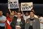 O plenário da Câmara dos Deputados foi ocupado por manifestantes que defendem a aprovação da Proposta de Emenda à Constituição (PEC) 300, que institui o piso nacional para policiais militares e bombeiros, e também pelos que defendem a manutenção do veto ao Ato Médico
