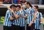 Time gaúcho abriu o placar com gol de Pará de falta