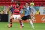 Grêmio entrou em campo com a intenção de se firmar no G-4, enquanto Flamengo queria iniciar uma aproximação do grupo de cima