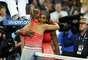 Serena Williams derrotó a la bielorrusa Victoria Azarenka con parciales de 7-5, 6-7 (6/8), 6-1.