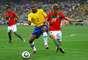 Portugal y Brasil empataron 0-0 en su último duelo, que fue en la fase de grupos de Sudáfrica 2010.
