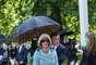 Anna Wintour prestigiou o desfile da Burberry Prorsum