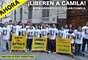Dos activistas argentinos (junto a otros 29 colegas) de Greenpeace, fueron detenidos en el Ártico ruso cuando escalaban plataformas petroleras que buscan explotar la zona, lo que según la ONG, trae serios daños para el planeta. Una intensa campaña en medio y redes sociales se inició para que liberen a Camila y los demás detenidos. La embajada rusa en Buenos Aires fue escenario de otra protesta para reclamar la liberación.