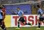 Maxi Pereira fez o primeiro gol uruguaio