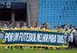 Insatisfeitos com a Confederação Brasileira de Futebol (CBF), os jogadores fizeram mais um protesto organizado pelo Bom Senso F.C., nesta quarta-feira, em jogos do Campeonato Brasileiro