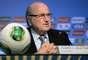 Blatter informou que a França não passará para o pote 2 - haverá um sorteio entre seleções europeias para definir qual será mudada