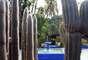 Jardin Majorelle, onde foram jogadas as cinzas do estilista francês Yves Saint Laurent, é um recanto colorido e acolhedor na mística cidade de Marrakech, no Marrocos, uma das sedes do Mundial de Clubes de 2013