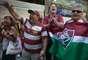 Torcedores do Fluminense fizeram festa após o quinto voto do Pleno, que consolidou o rebaixamento da Portuguesa