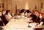 9 de janeiro - Após reunião com a cúpula da Segurança do Maranhão e com a governadora Roseana Sarney, o ministro da Justiça, José Eduardo Cardozo, anunciou medidas conjuntas para o enfrentamento ao crime e a melhoria do sistema penitenciário do Estado