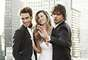 Gisele Bündchen estrela a campanha do novo perfume de Carolina Herrera ao lado deJon Kortajarena e do também brasileiro Marlon Teixeira, considerado o modelo nº 7 pelo site Models.com