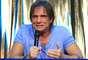Roberto Carlos concedeu uma entrevista coletiva, neste domingo (8), à bordo do MSC Preziosa