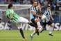 Grêmio e Atlético Nacional fizeram duelo nervoso em Porto Alegre