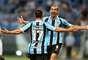 Gremistas festejam vitória importante pela Libertadores contra Atlético Nacional