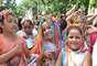 Crianças aproveitaram sexta-feira de Carnaval para cair na folia