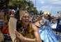Bloco Rio Maracatu estampou alegria no rosto