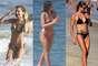 Fãs declaradas de praia, famosas como Grazi Massafera, Bruna Marquezine e Fernanda Lima desfilaram a boa forma pelas areias do Rio de Janeiro