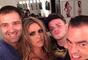 Em selfie no MG Hair, em São Paulo, o salão do Biaggi em que Fernanda fez a transformação para começar o outono com o cabelo bem iluminado