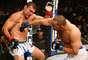 Bomba de direita de Henderson quebrou o nariz de Shogun e garantiu vitória ao americano de 43 anos no UFC Fight Night em Natal (RN)
