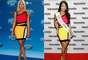 Em janeiro de 2013, a cantora Nicki Minaj usou vestido de bandagem colorido, look que foi repetido pela Miss Las Vegas 2014, Lisa Song Sutton, em janeiro deste ano