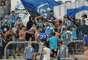 Briga nas arquibancadas da Arena Grêmio