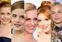 Maquiagem e cabelos, juntos, são capazes de compor looks clássicos e retrôs