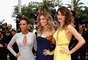 Taís Araújo, Grazi Massafera e Isabelli Fontana foram ao Festival de Cannes, no último sábado (17), para assistir à première de Saint Laurent