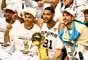 """""""Big Three"""" do San Antonio Spurs conquistou o quinto título da franquia na NBA; Tim Duncan é o único a estar presente em todos eles"""