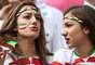 Torcedores de Bósnia e Irã agitam nesta quarta-feira a Arena Fonte Nova, em Salvador. A partida pode render a classificação às oitavas de final para os iranianos