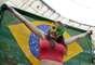 Torcidas de Portugal e Gana acompanham mais um jogo das seleções na Copa do Mundo de 2014. A partida decisiva acontece no Estádio Mané Garrincha, em Brasília