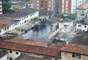 A aeronave caiu em uma área residencial, no Boqueirão