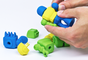 Peças de brinquedos também podem ser criadas pela impressora 3D
