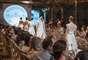 Como parte da programação, a estilista Emannuele Junqueira mostrou sua linha prêt-à-porter de noivas