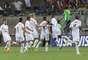 O Bragantino comemorou o golaço decisivo de Sandro