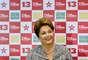 23/10/2014 - Dilma Rousseff também esteve em entrevista coletiva no Rio de Janeiro