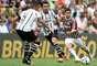 Fluminense e Corinthians se enfrentaram neste domingo, no Maracanã. O time carioca venceu, de virada, por 5 a 2.