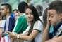 Torcida palmeirense no jogo contra o Capivariano no Allianz Parque