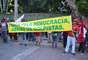Salvador - Grupo protesta contra ato que está programado para o próximo domingo, contra o governo Dilma