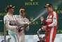 Pódio teve Hamilton, Rosberg e Vettel