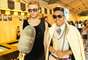 Gabriel Bezerra, 18, host, e Paulo Rikes, 22, produtor de moda