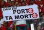 "Torcida do Inter imitou o bordão da do Atlético-MG: ""Caiu no Horto, tá morto"""